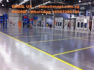 warehouse floor epoxy
